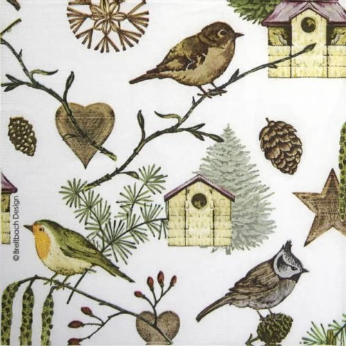 Paper Napkin - Breitbach: Bird Land