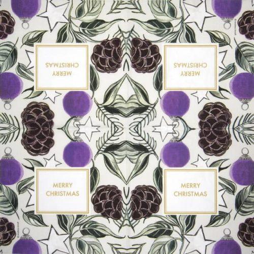 Lunch Napkins (20) - Arnolt Design: Christmas Sentiment