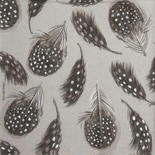 Paper Napkin - Arnolt Design: Feathers