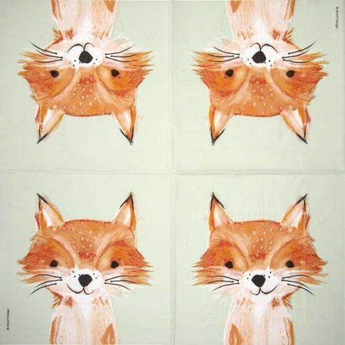 Paper Napkin - Arnolt Design: Foxy