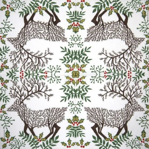Paper Napkin - Patrizia Netto: In the Wood