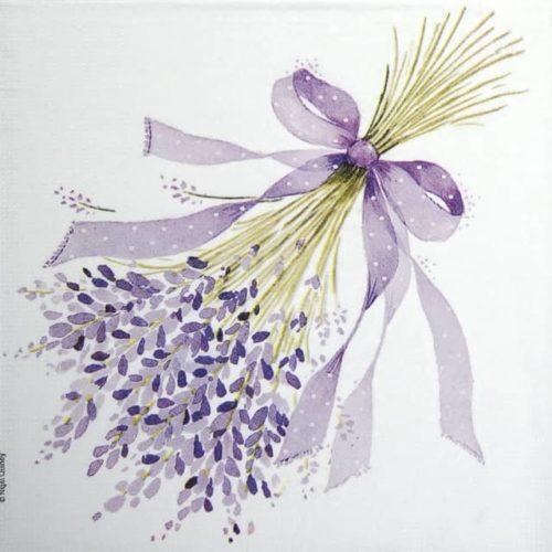 Paper Napkin - Nigel Quiney: Lavender