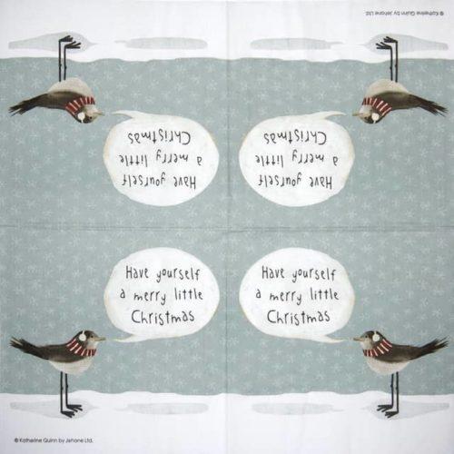 Paper Napkin - Katherine Quinn: Merry Little Christmas