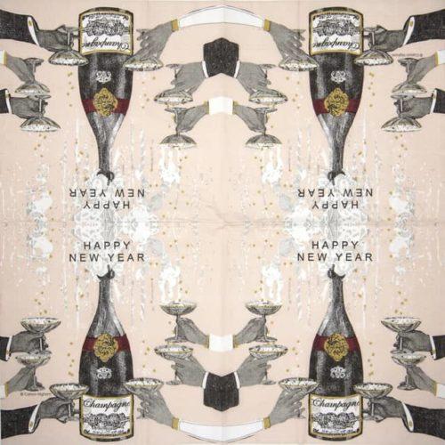 Cocktail Napkins (20) - Carson Higham: New Year