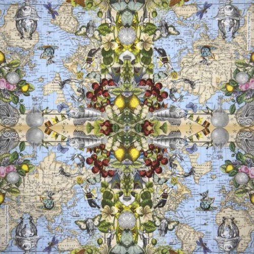 Paper Napkin - Pabuku: Pabuku Map