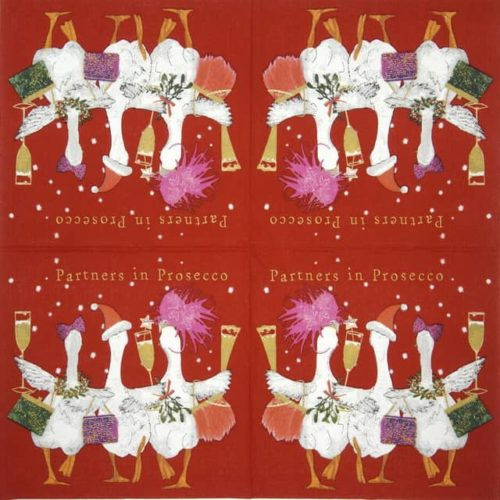 Paper Napkin - Carson Higham: Partners in Prosecco