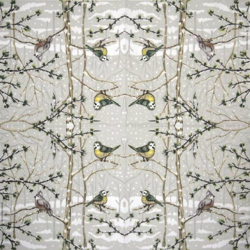Paper Napkin - Patrizia Netto: Snow Paradise