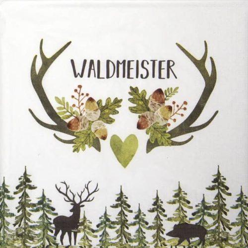 Paper Napkin -  Ute Krause: Waldmeister