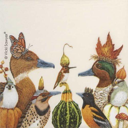 Paper Napkin - Vicki Sawyer: We Gather Together