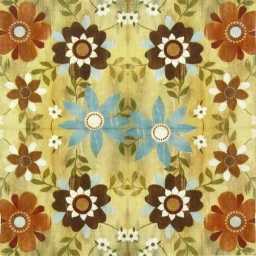 Paper Napkin - Flower Carpet