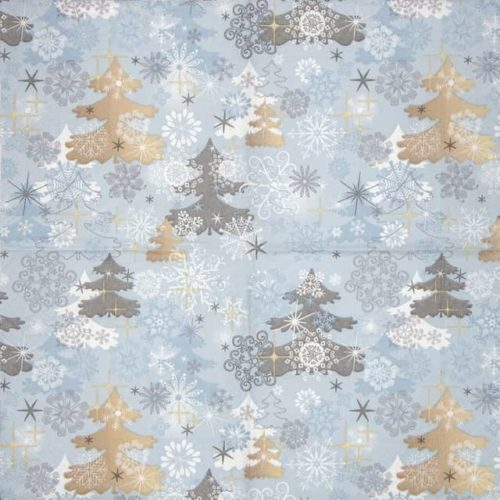 Cocktail Napkins (20) - A touch of winter