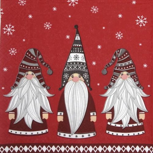 Lunch Napkins (20) -  Gnomes