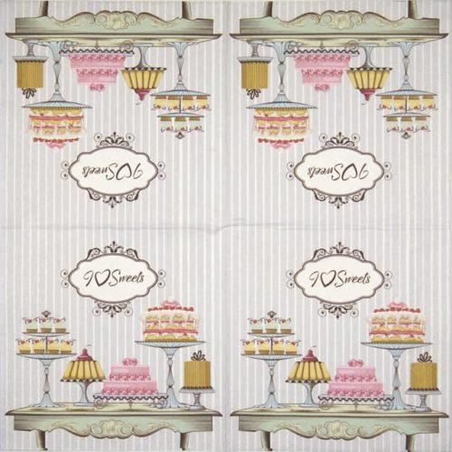 Paper Napkin - Patisserie