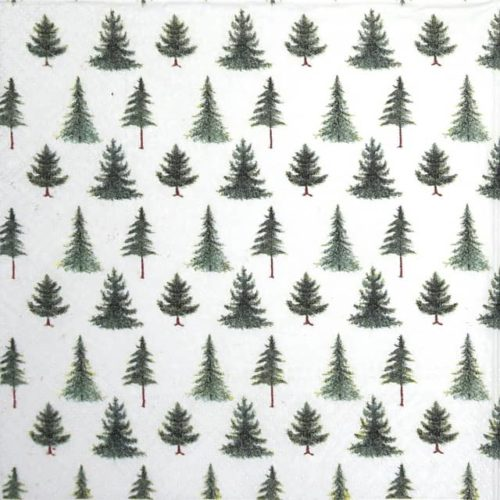 Paper Napkin - Conifer Forest - Paw