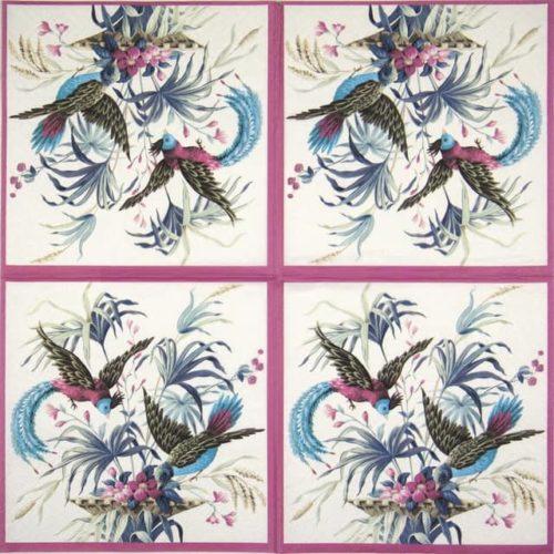 Paper Napkin - Birds of Eden