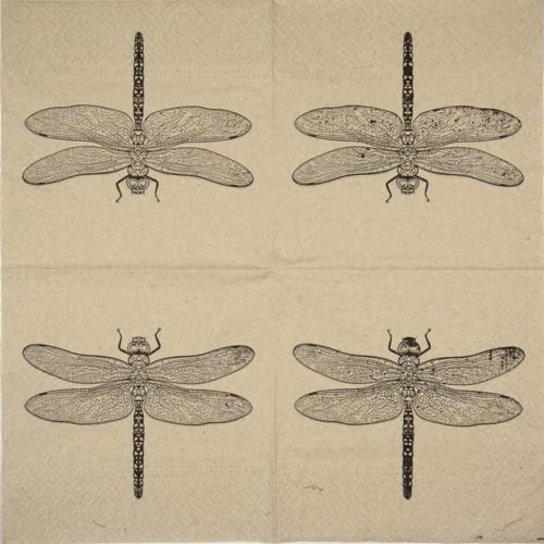 Paper Napkin - We Care Dragonfly