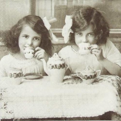 Lunch Napkins (20) - Tea Party