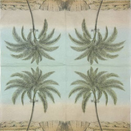 Lunch Napkins (25) - Lonely Palmtree