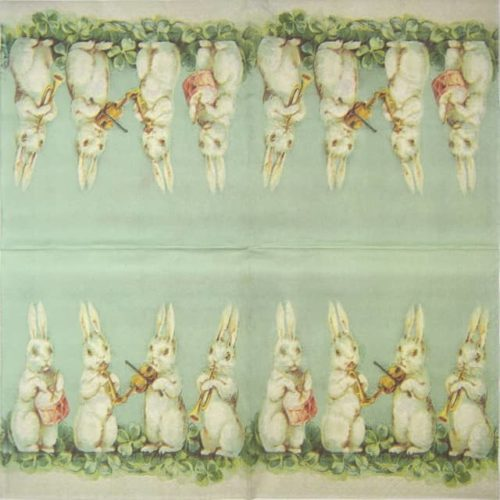 Lunch Napkins (25) - Easter bunnie
