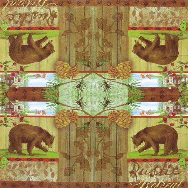 Paper Napkin - Rustic Retreat