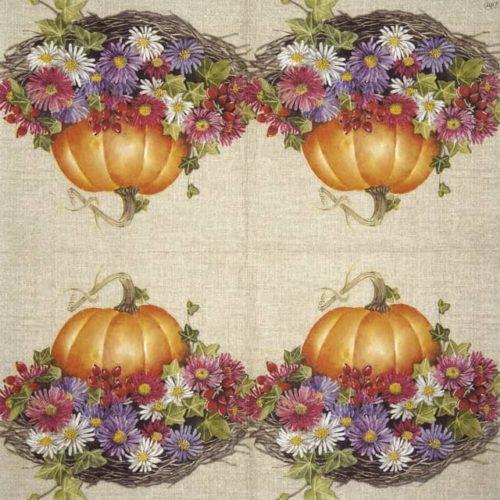 Paper Napkin - Be Thankful linen__IHR_923066