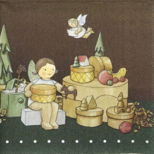 Paper Napkin - Engel Atelier_IHR_934200