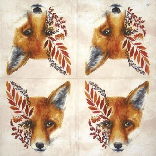Paper Napkin - Fuchs cream_IHR_916660