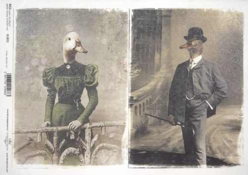 Rice Paper - Poultry Couple_ITD_R1821