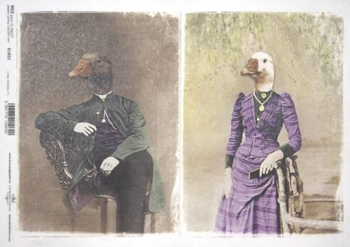 Rice Paper - Poultry Couple_ITD_R1822