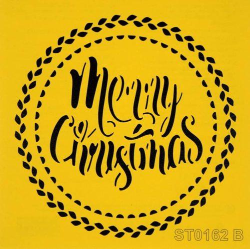 Stencil_ITD_ST0162B_Christmas
