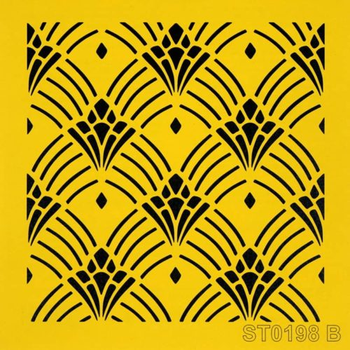 Stencil_ITD_ST0198B_Art Deco