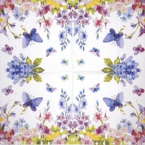 Paper Napkin - Paper Napkin - Carola Pabst: Blue Spring _PPD_1333263