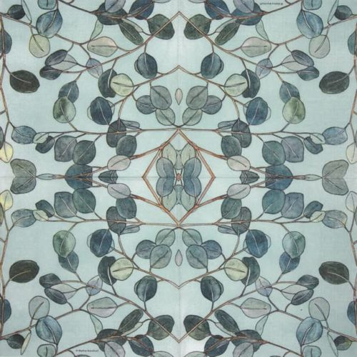 Paper Napkin - Marina Brackhoff: Eucaliptus_PPD_1333627