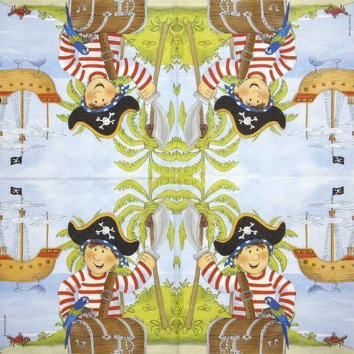 Paper Napkin - Maren Grande: Pirate_PPD_1333816