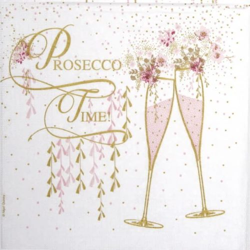 Paper Napkin - Nigel Quiney: Prosecco Time_PPD_1333153