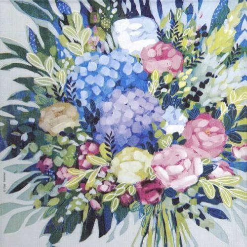 Paper Napkin - Clair Bremner: Royal Bouquet_PPD_1333731