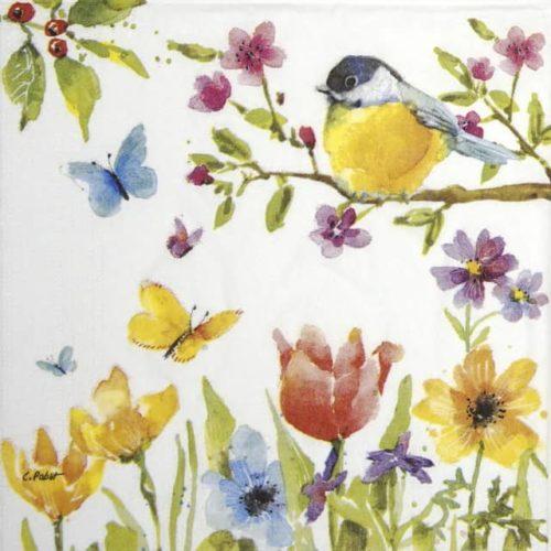 Paper Napkin - Paper Napkin - Carola Pabst: Spring Bird_PPD_1332784