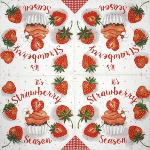 Paper Napkin - Lege Artist: Strawberry Season_PPD_1333687