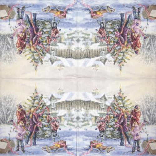 Paper Napkin - Family Holidays_PAW_SDL231000