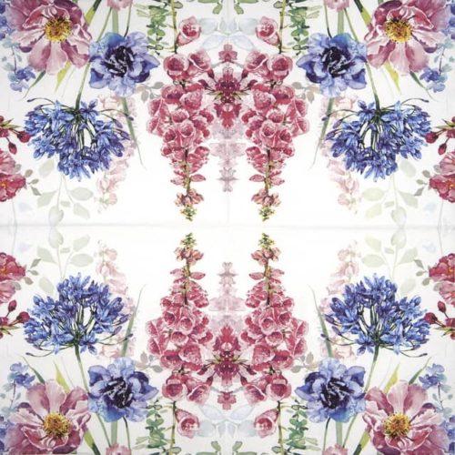 Paper Napkin - Foxglove & Agapanthus_Ti-flair_367731