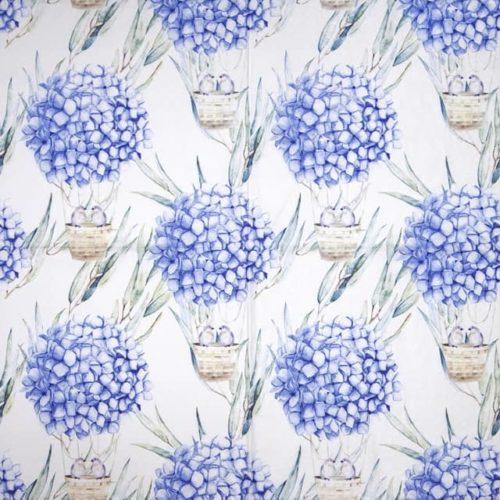 Paper Napkin - Hydrangea Balloons blue_Ti-flair_363401