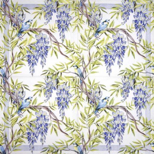 Paper Napkin - Wisteria blue_Ti-flair_362041