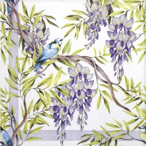 Paper Napkin - Wisteria lilac_Ti-flair_362043