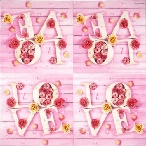 Paper Napkin -  Sweet Love