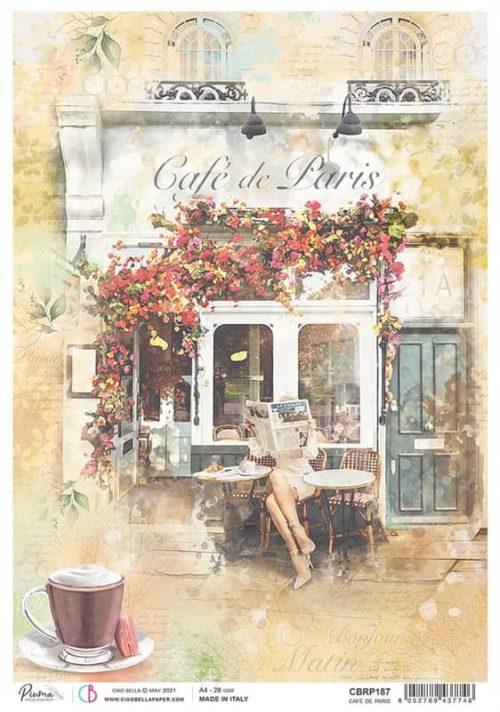 Rice Paper - Café Paris  - CBRP187