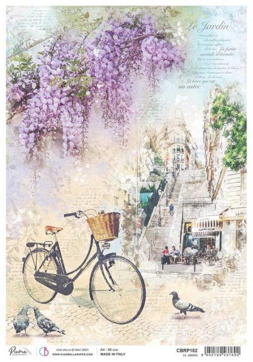 Rice Paper - Le Jardin  - CBRP182