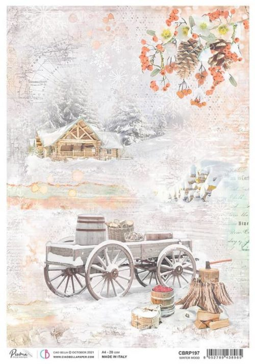 Rice Paper - Winter Mood  - CBRP197