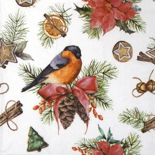Paper Napkin - Winter Decoration_Nouveau_75523