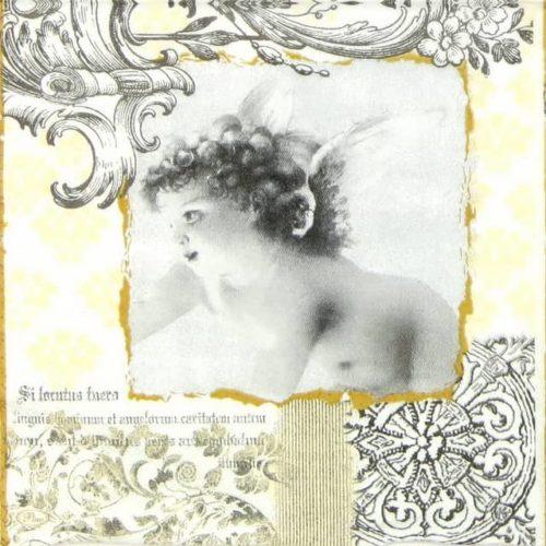 Paper Napkin - Angel of Baroque