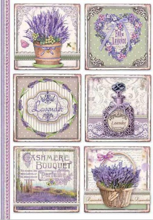 Rice Paper - Provence Cards - DFSA4366